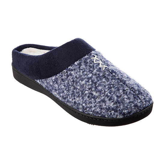 Isotoner Tweed Womens Slip-On Slippers