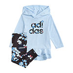 adidas Girls 2-pc. Legging Set-Preschool