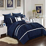 Chic Home Ashville 16-pc. Midweight Embroidered Comforter Set