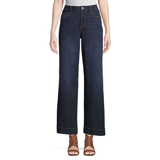 a.n.a Hi Rise Wide Leg Jean- Tall