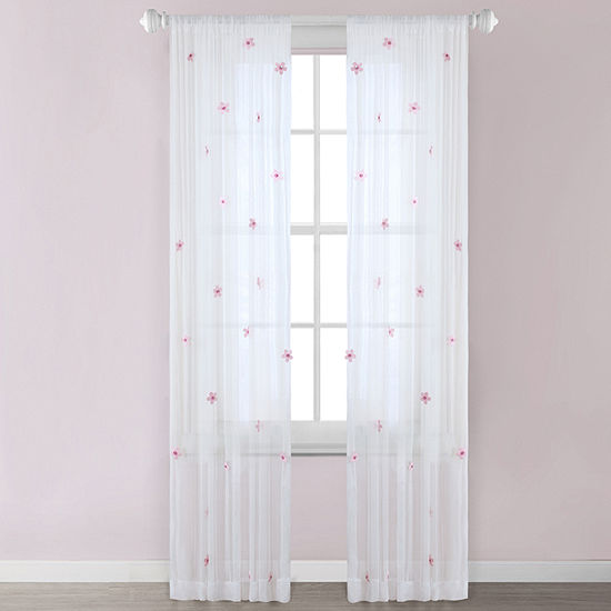 Mi Zone Taylor Rod-Pocket Sheer Curtain Panel