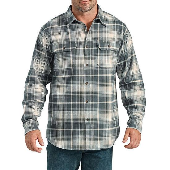 Dickies® Heavyweight Long Sleeve Flannel Shirt