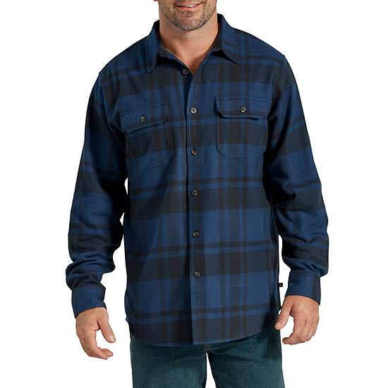 Dickies® Heavyweight Long Sleeve Flannel Shirt