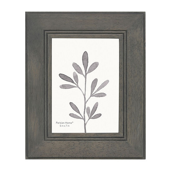 Enchante Gray Wood 1-Opening Tabletop Frame