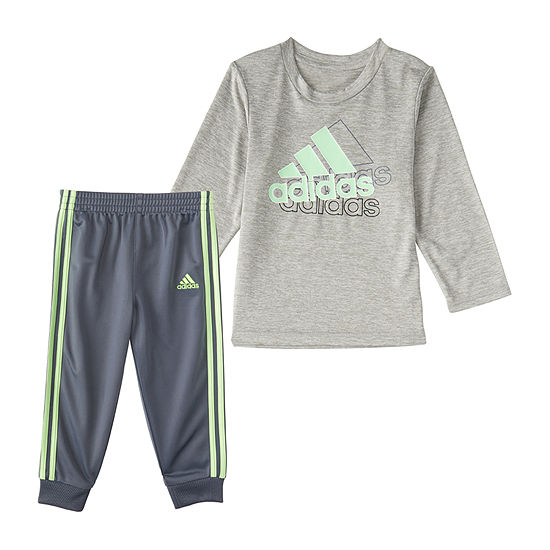 adidas Baby Boys 2-pc. Pant Set