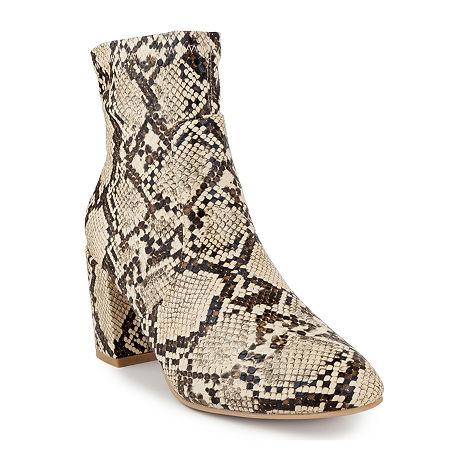 Sugar Womens Itsie Stacked Heel Booties, 10 Medium, Multiple Colors - 03707830091