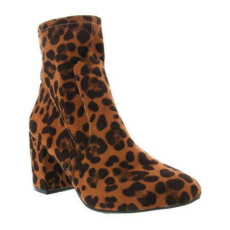 Sugar Womens Itsie Stacked Heel Booties, 8 Medium, Multiple Colors - 03707840059