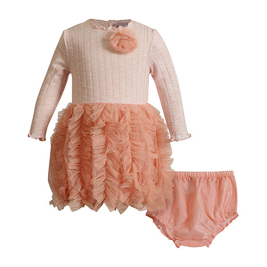 Youngland Baby Girls Long Sleeve Tutu Dress