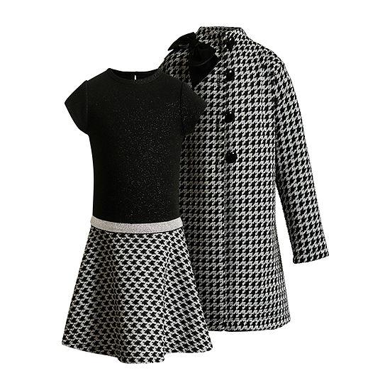 Youngland Baby Girls Short Sleeve 2-pc. Dress Set