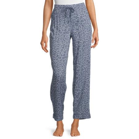 Ambrielle Womens Pajama Pants, X-large , Blue