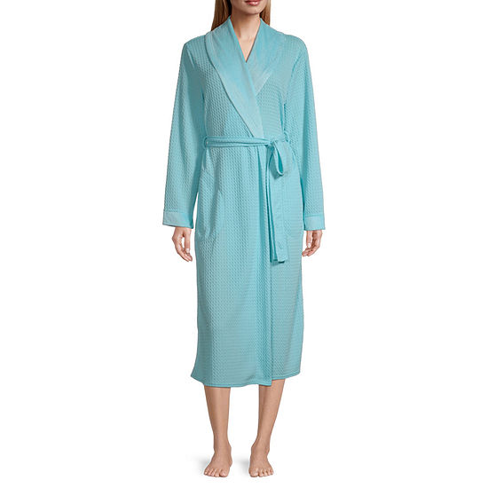 Liz Claiborne Womens Long Sleeve Robe