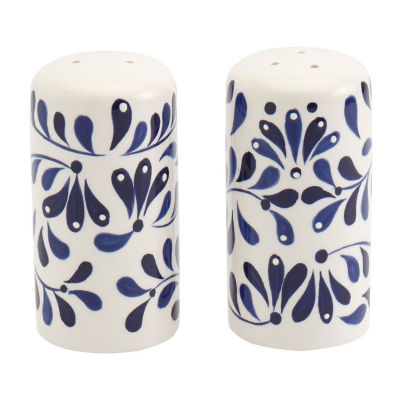 Tabletops Unlimited Carmine Salt + Pepper Shakers