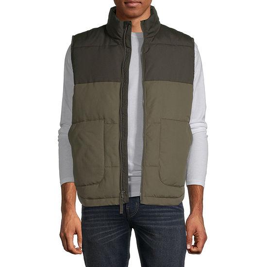 St. John's Bay Colorblock Puffer Vest