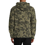 Champion Heritage All Over Pring Sherpa Mens Long Sleeve Hoodie