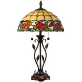 Dale Tiffany Beaded Ruby Table Lamp Jcpenney