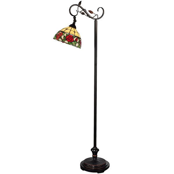 Dale Tiffany Rose Floor Lamp