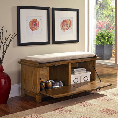 Maxwell Storage Bench with Removable Cushion