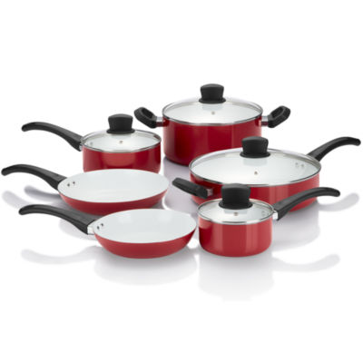 Cooks 10-pc. Ceramic Cookware Set