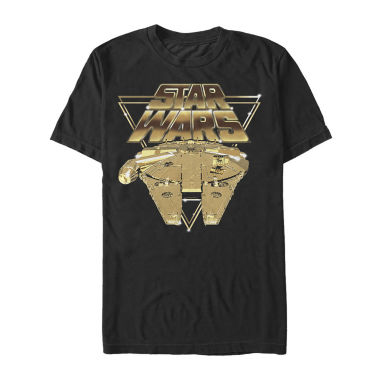 Star Wars Episode 8 Short Sleeve Star Wars Tv + Movies Graphic T-Shirt-Big and Tall