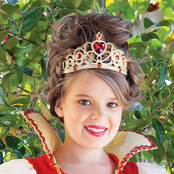 Red and Gold Princess Child Tiara