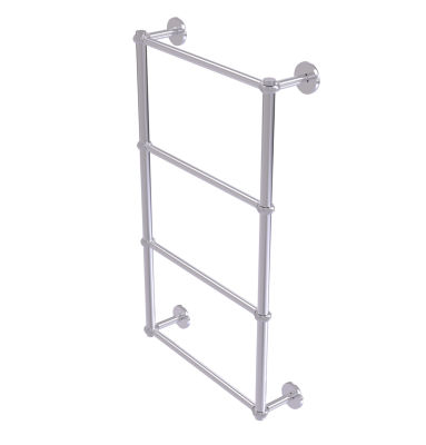Allied Brass Prestige Skyline Collection 4 Tier 24Inch Ladder Towel Bar with Twisted Detail