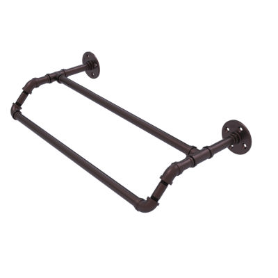 Allied Brass Pipeline Collection 36 Inch Double Towel Bar