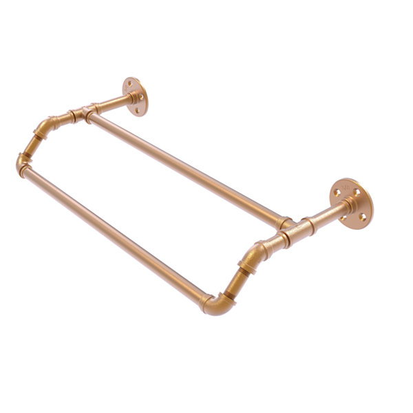 Allied Brass Pipeline Collection 24 Inch Double Towel Bar