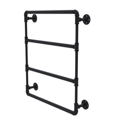 Allied Brass Pipeline Collection 30 Inch Wall Mounted Ladder Towel Bar