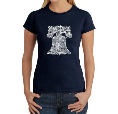 Los Angeles Pop Art Women's T-Shirt - Liberty Bell