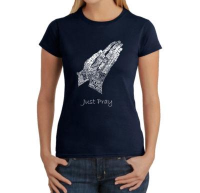 Los Angeles Pop Art Women's T-Shirt - Prayer Hands