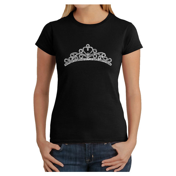 Los Angeles Pop Art Women's T-Shirt - Princess Tiara