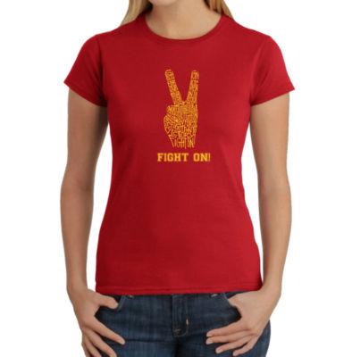 Los Angeles Pop Art Women's T-Shirt - USC