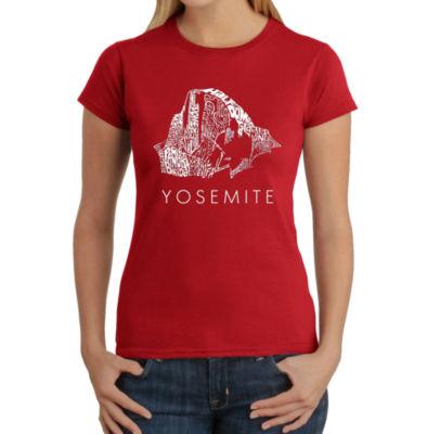 Los Angeles Pop Art Women's T-Shirt - Yosemite