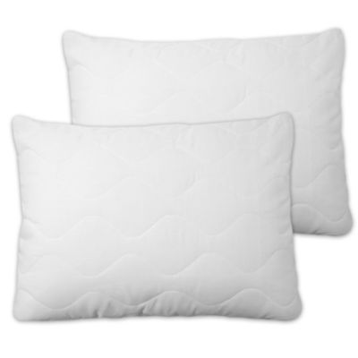 Soft Touch Extra Plush Quilted Pillow Cover With Zipper Set of 2