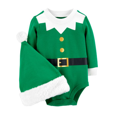 Carter's 2-pc. Elf Bodysuit Set-Baby Unisex