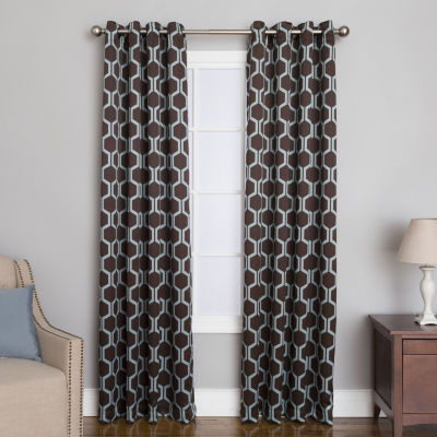 Miller Curtains Aslyn Grommet-Top Curtain Panel