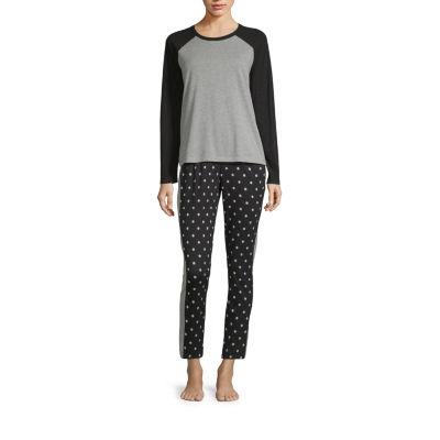 Sleep Chic Flannel Pajama Pants Set