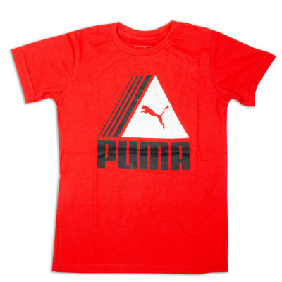 Puma Kids Apparel Graphic T-Shirt-Preschool Boys