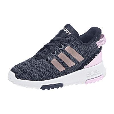 adidas Cf Racer Toddler Girls Running Shoes Lace-up