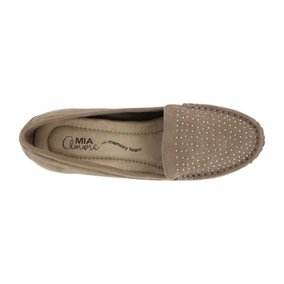 Mia Amore Mary Womens Slip-On Shoes