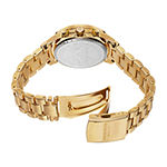 Akribos XXIV Womens Gold Tone Strap Watch-A-776yg