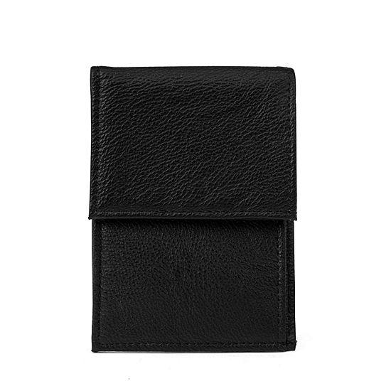 Mundi Super Slim Pebble Mini Safe Keeper Slim Fold Wallet
