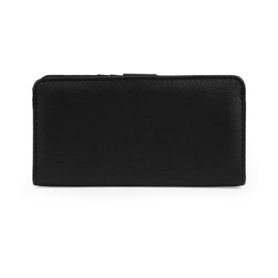 Mundi Slim Clutch Better Than Leather Safe Keeper Checkbook Wallet