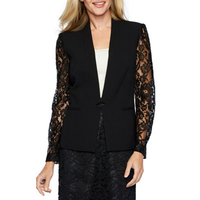 Chelsea Rose Long Lace Sleeve Suit Jacket or Lace Suit Skirt