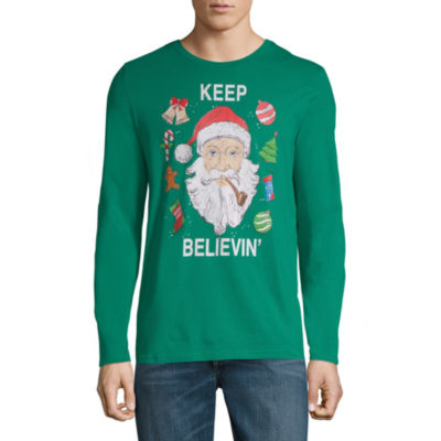 Santa Keep Believin' Christmas Graphic Tee
