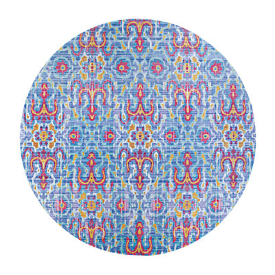 Couristan Puebla Accent, Area, Round and Runner Rugs