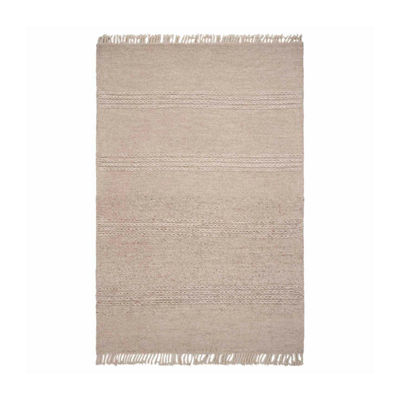 Kas Maui Cable Knit Rectangular Indoor Accent Rug
