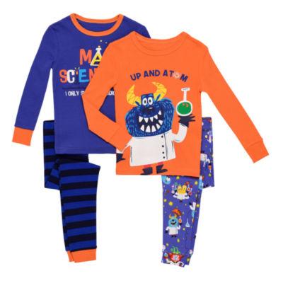 4 Piece - Pajama Set Boys