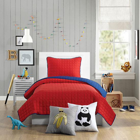 Urban Playground Ayer Plaid Quilt Set