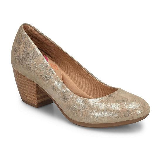 Comfortiva Womens Amora Pumps Stacked Heel